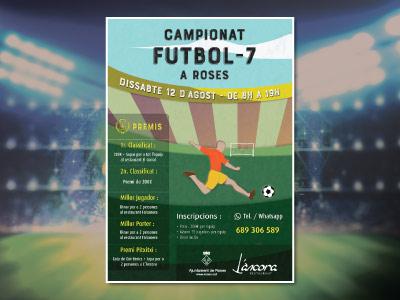 Cartel Campeonato Futbol-7