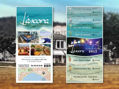 Flyer L'Ancora - Verano 2017